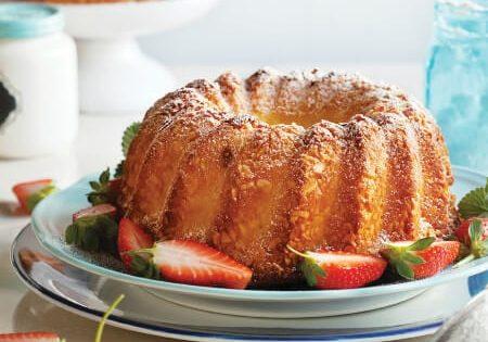 עוגת ריקוטה לימון