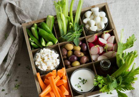 ערכת ירקות ומטבלים