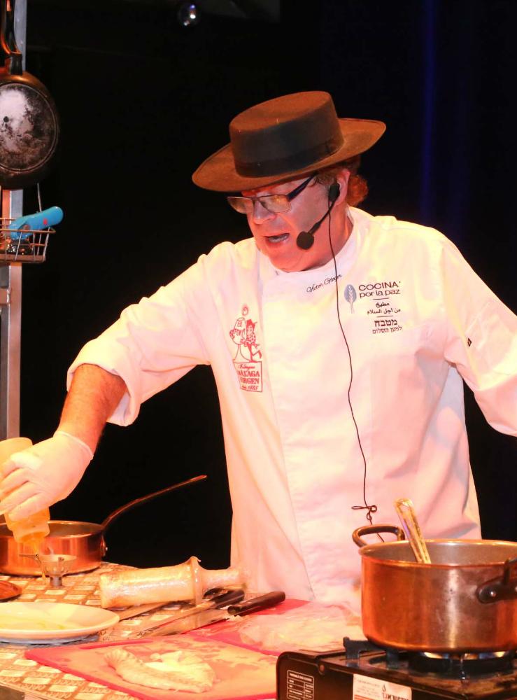 שף ויקטור גלוגר ארוחה סודית מחלבות גד
