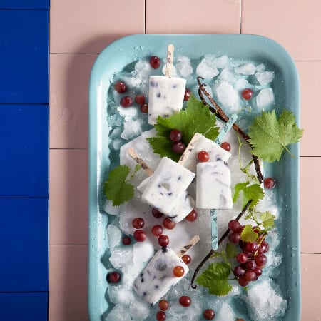 קרטיב יוגורט עם ענבים