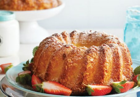 עוגת ריקוטה לימון לשבירת הצום