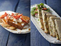 מנות של מסעדת אשתורי לפסטיבל גד מורנינג טוסט של מחלבות גד
