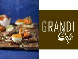 מנות של גרנדי קפה לפסטיבל גד מורנינג טוסט של מחלבות גד