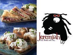 מנות של מסעדת ג'רמייה לפסטיבל גד מורנינג טוסט של מחלבות גד
