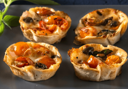 מיני פיצה טורטייה